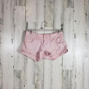 5/$25 YMI light pink shorts juniors size 3